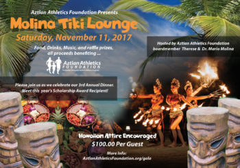 Molina Tiki Lounge Dinner 2017